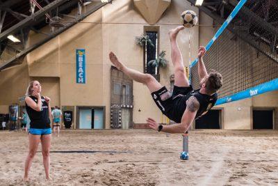 Footvolley NL 2 Gerrit van Keulen